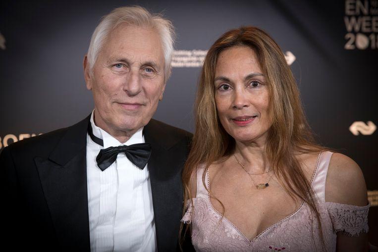 Marion Bloem (met haar man Ivan Wolffers) Beeld HH /  ANP