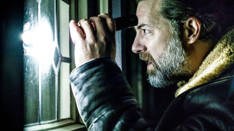 Geert Van Rampelberg in 'Black-out'. Beeld streamz