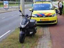 Fietsster raakt ernstig gewond bij botsing met scooter op fietspad in Helmond