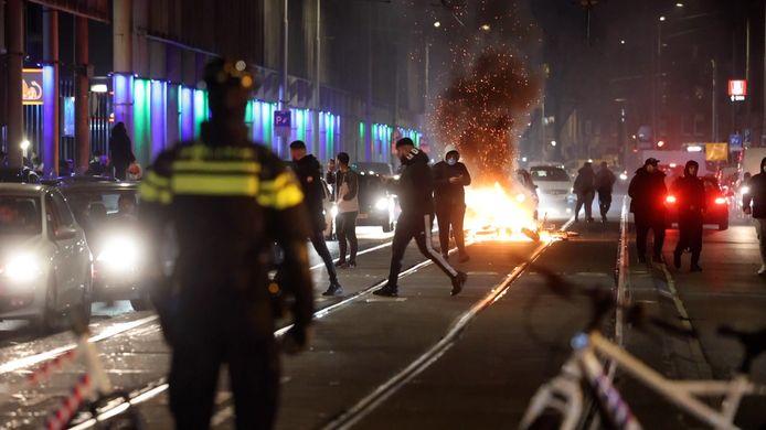 Onrust in Schilderswijk.