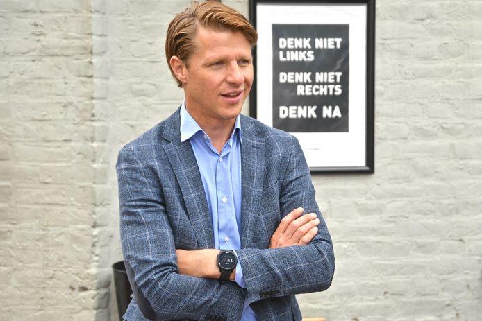 N-VA Parlementslid Axel Ronse.