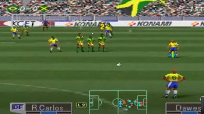 Les mythiques coups francs de Roberto Carlos sur PES