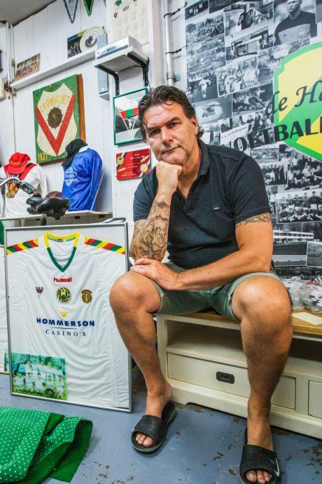 Rob Pronk bleef na zware hoosbui achter met drijfnat Voetbalhistoriemuseum: 'Wat een ellende'