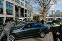 Op 18 maart 2019 demonstreerden Uber-chauffeurs bij het Uber-kantoor in Amsterdam. Ze vroegen om meer loon en betere arbeidsomstandigheden.