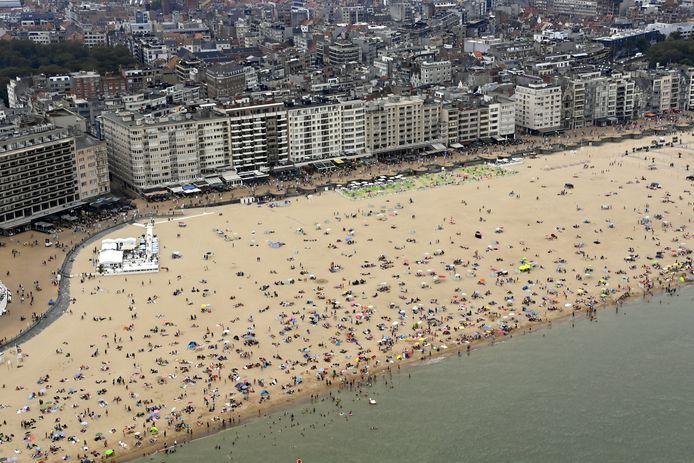 De feiten speelden zich af op het strand van Oostende.