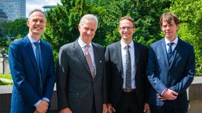 Brugse econoom krijgt Francqui-prijs 2019 uit handen van koning Filip