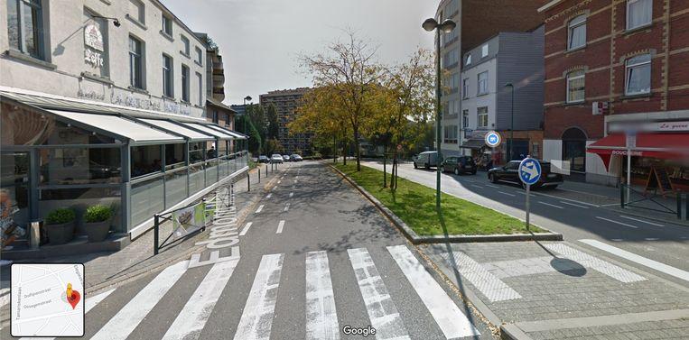 Moord in Molenbeek: Edmond Machtenslaan. Beeld Google Streetview
