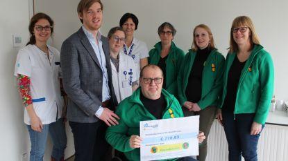 Sint-Andriesziekenhuis sponsort rolstoeldansvereniging Paradanszo uit Ingelmunster