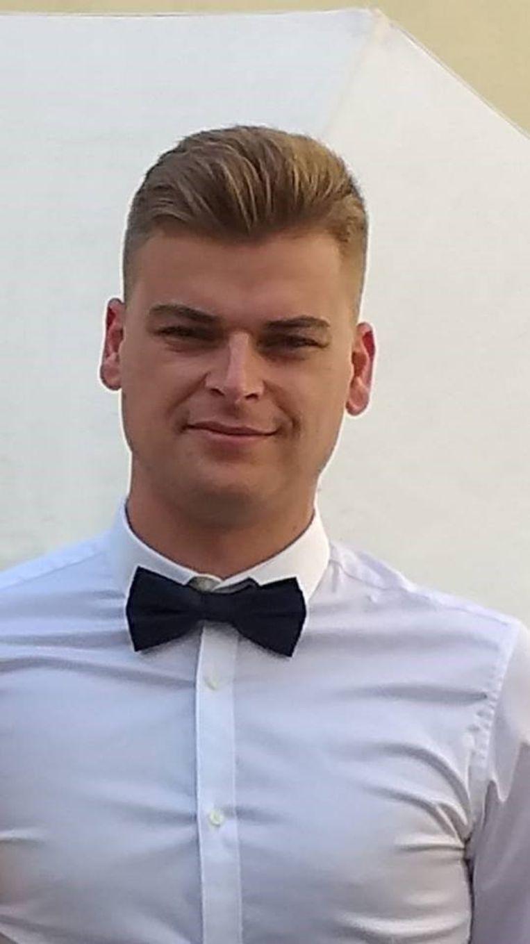 Slachtoffer Jonas Vlayen (23) vertrok net in alle vroegte naar zijn werk.
