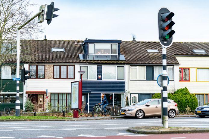 Aan de Dogkardrift in Nieuwegein staat het laatste pand dat de beruchte huisjesmelker Chang aanschafte.