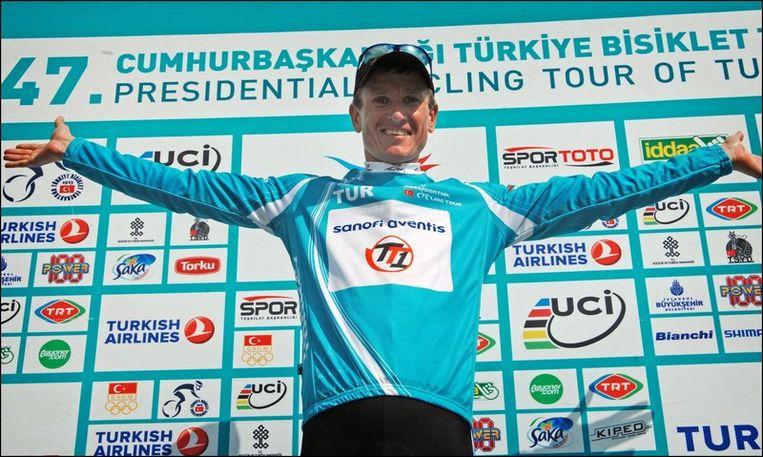 Efimkin is de eindwinnaar. Beeld PHOTO_NEWS