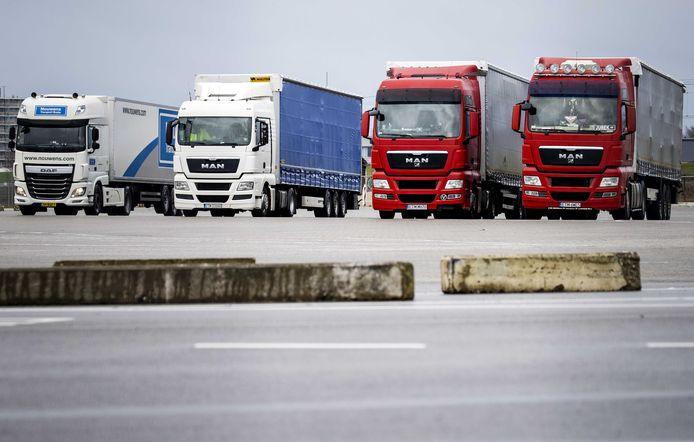 Onder de cao beroepsgoederenvervoer vallen 150.000 werknemers, onder wie 90.000 truckers