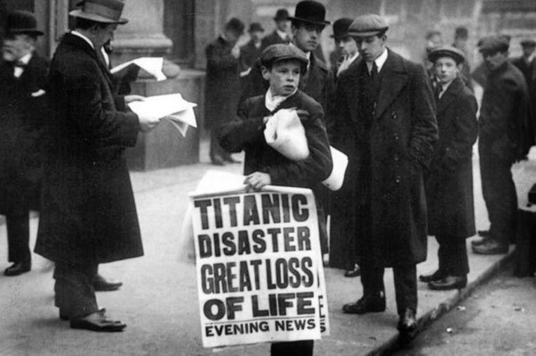 Peel zegt zich het haar nog te herinneren dat de Titanic zonk