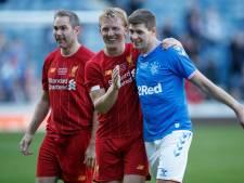 Rangers-legends tegen Liverpool-legends: Gerrard, Kuyt én meer