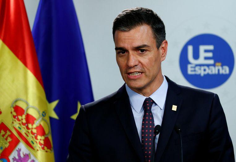 Spaans premier Pedro Sanchez probeert al sinds april een nieuwe regering te vormen, voorlopig zonder resultaat. Beeld REUTERS