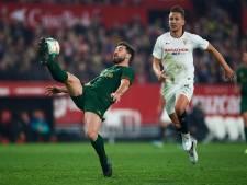 Luuk de Jong kan Sevilla als invaller niet redden van puntenverlies