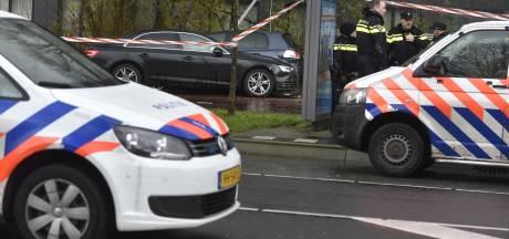 Politie schiet autoband lek bij achtervolging Bussum
