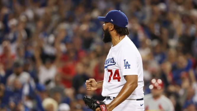 Kenley Jansen vervult in cruciaal duel hoofdrol bij honkballers LA Dodgers