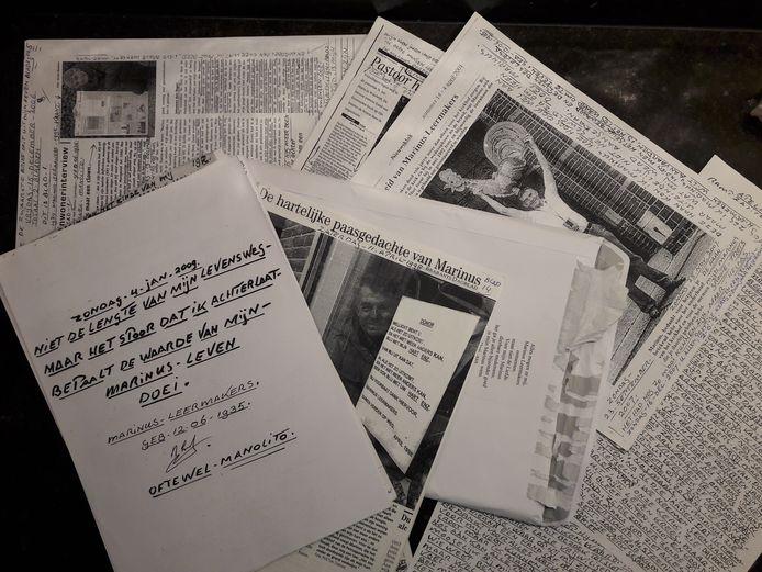 Postuum postpakket van Marinus Leermakers