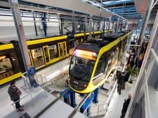 Ruim, licht en modern: bekijk hier de nieuwe Utrechtse tramremise