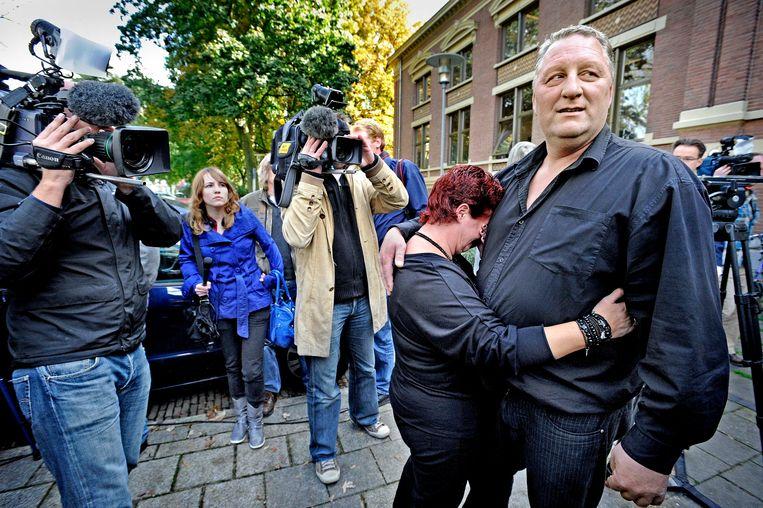 Herman du-Bois: 'Berichtjes eindigt hij vaak met: 'Friends forever'.' Beeld Raymond Rutting / de Volkskrant