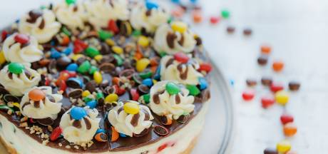 Wat Eten We Vandaag: M&M's cheesecake
