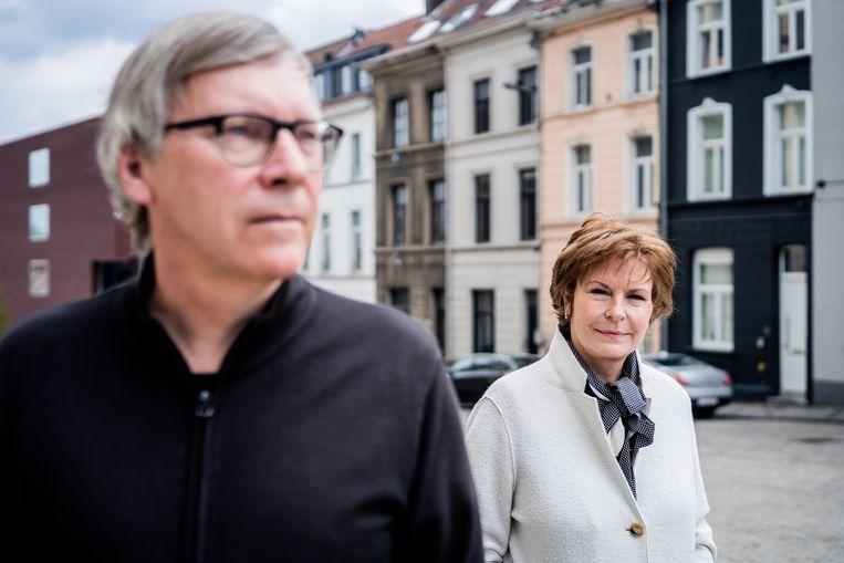 Dirk Verhofstadt en Annie Van Paemel. Beeld Wouter Van Vaerenbergh