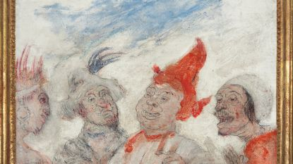 Kunstveilinghuis De Vuyst veilt werk uit topperiode van James Ensor