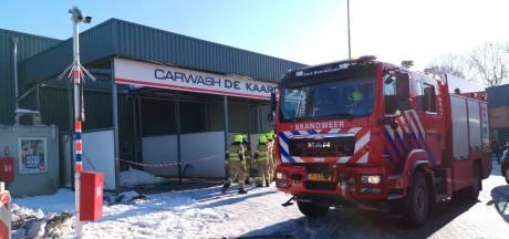 Carwash Bennekom moet sluiten na gedeeltelijk instorten dak