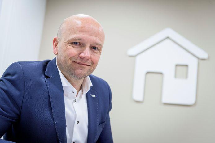 Peter Burbach, voorzitter van de NVM Twente.