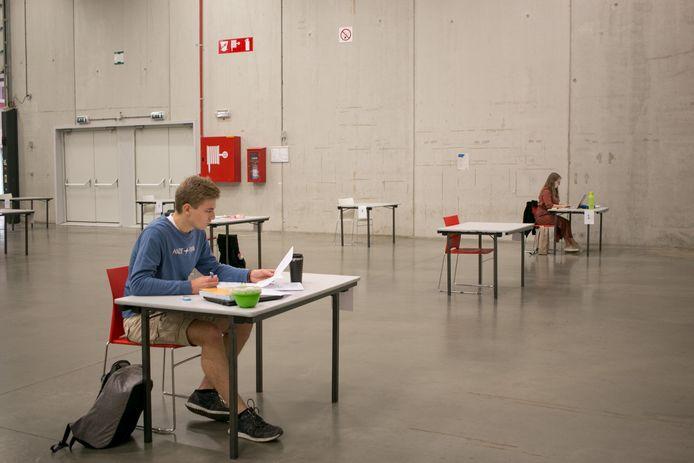 Vorig jaar konden jongeren in de examenperiode in juni terecht in 't Bau-huis.