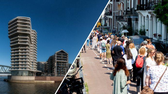 Een peperduur penthouse in Nijmegen staat te koop en massaal afscheid van Peter R. de Vries.