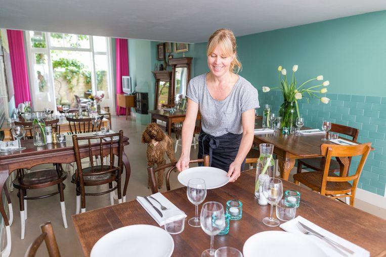 Deze zondag is Marits Huiskamer aan de beurt met haar veganistische pop-up brunch. Beeld Rink Hof