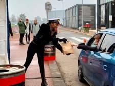'Cruisen op de kade' bij ss Rotterdam populair: 'We kunnen hier zó een vaccinatiestraat van maken'