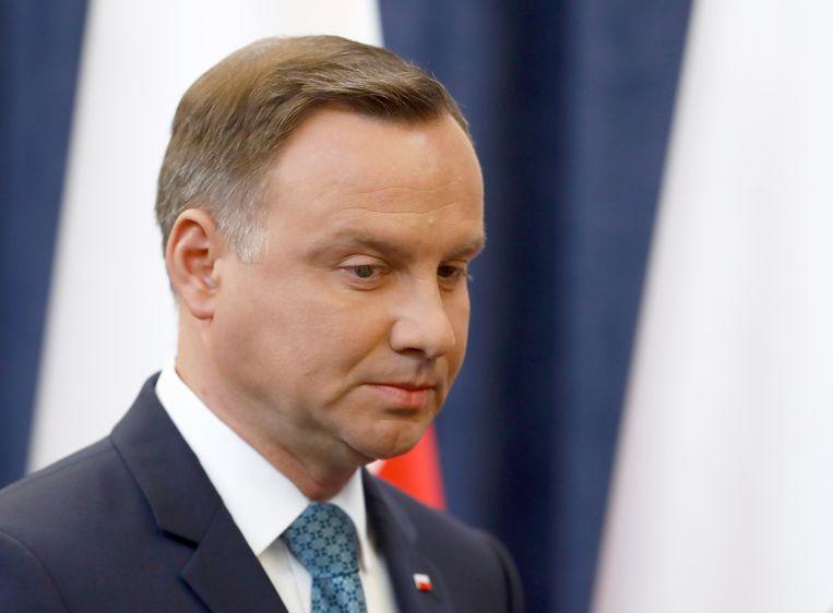 President Andrzej Duda Beeld REUTERS