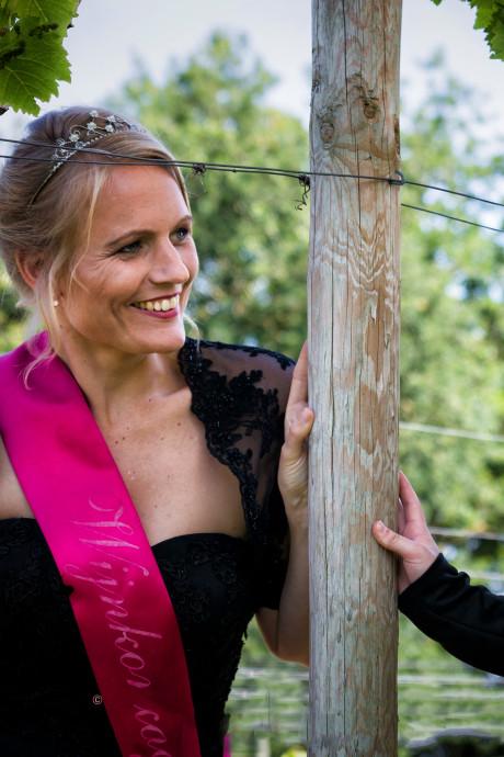 Bernadette wijnkoningin van Groesbeek