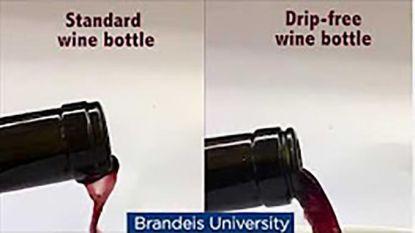 Genie ontwerpt wijnfles die niet drupt op je tafelkleed