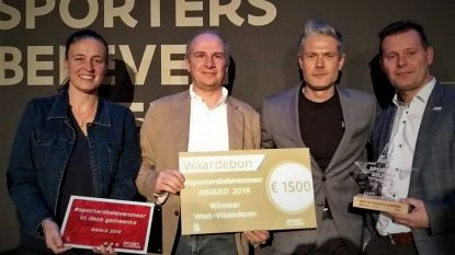 Wingene wint #Sportersbelevenmeer-award