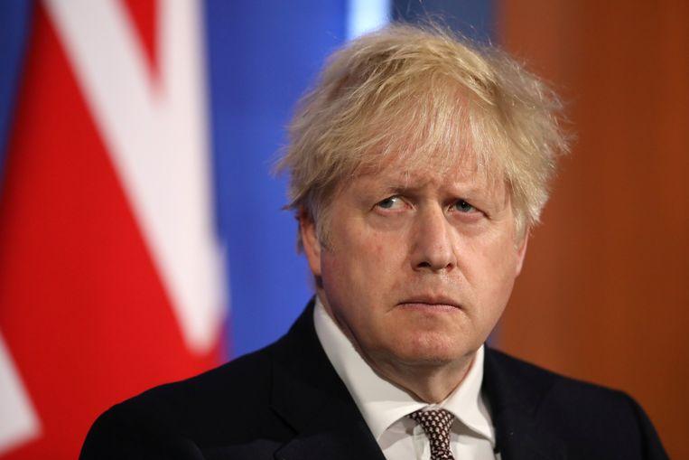 De Britse premier Boris Johnson Beeld REUTERS