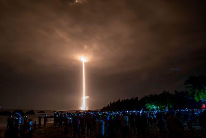 De verkenner was vorige week gelanceerd vanuit het Wenchang Space Center op het zuidelijke eiland Hainan.