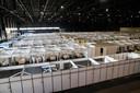 Congrescentrum MECC in Maastricht was klaar voor de opvang van 276 coronapatiënten, maar de bedden zijn nooit gebruikt.