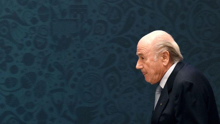 Sepp Blatter Beeld EPA