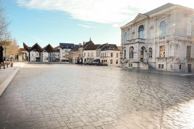 Stadhuis, Grote Markt Vilvoorde.