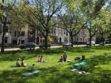 Doctoraatstudente Laurence (26) geeft hele zomer lang kinderyoga in het park