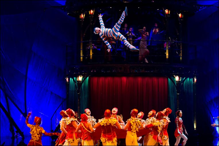 Cirque du Soleil Rehearsal - London. EDITORIAL USE ONLY. Performers from Cirque du Soleil rehearse their new show, Kooza, at the Royal Albert Hall in west London. URN:15470002 + PHOTO NEWS / PICTURES NOT INCLUDED IN THE CONTRACTS Beeld Photo News
