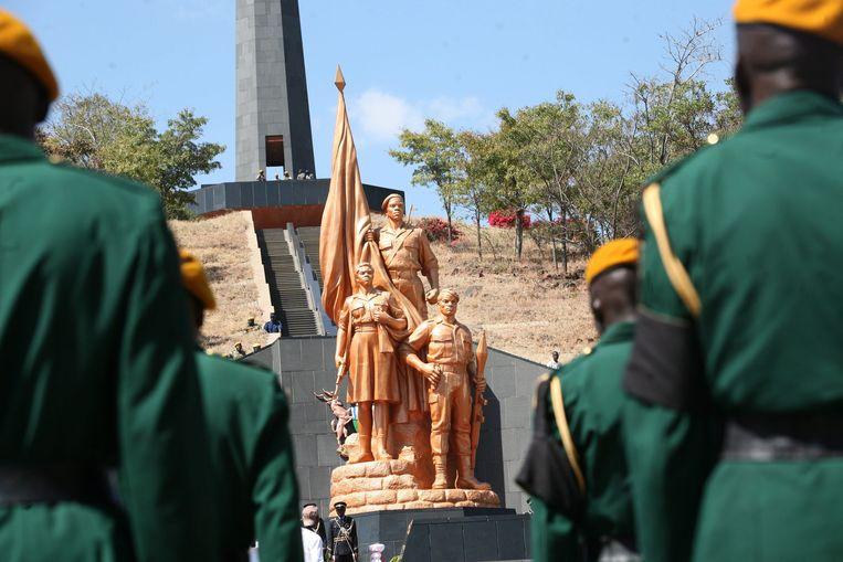 De Nationale Heldenakker in Harare, Zimbabwe. Beeld BELGAIMAGE