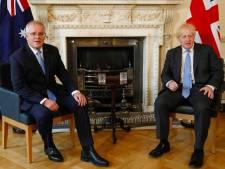 Le Royaume-Uni annonce un accord commercial post-Brexit avec l'Australie