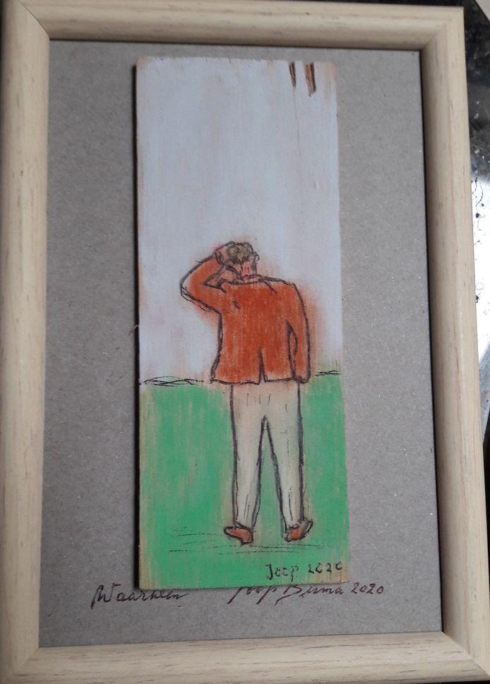 illustratie Vers op Zondag: Joop Buma