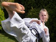 Taekwondoka uit Arnemuiden (14) klaar voor WK-debuut