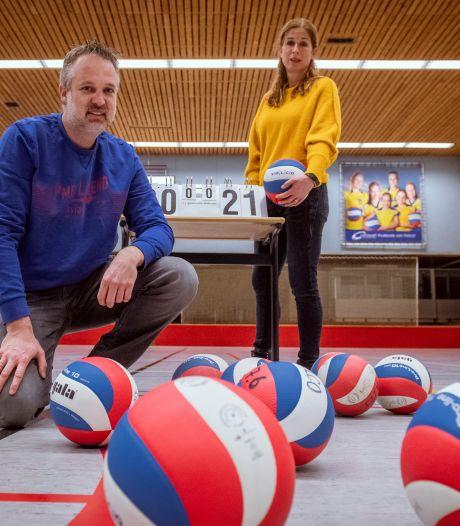 Volleyballers Volco kunnen zo in de zaal staan, als de mogelijkheid er weer is
